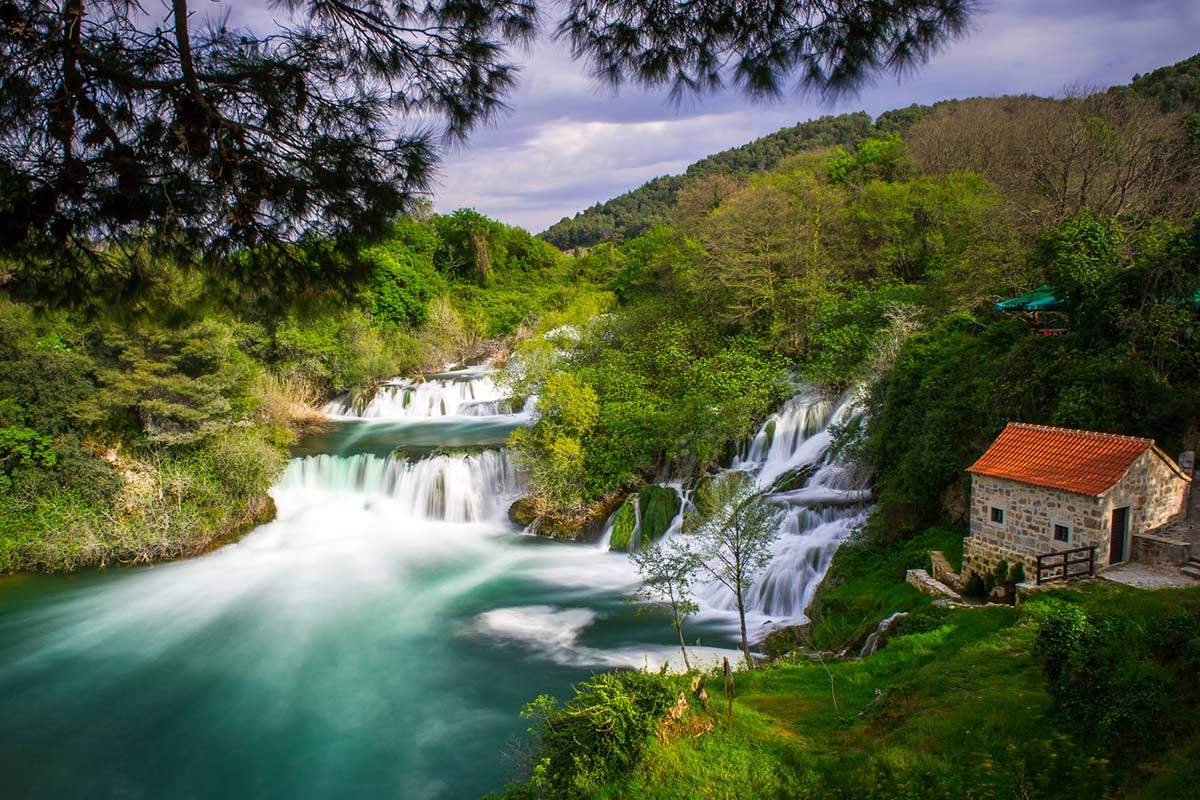 Watermill Near Krka Falls