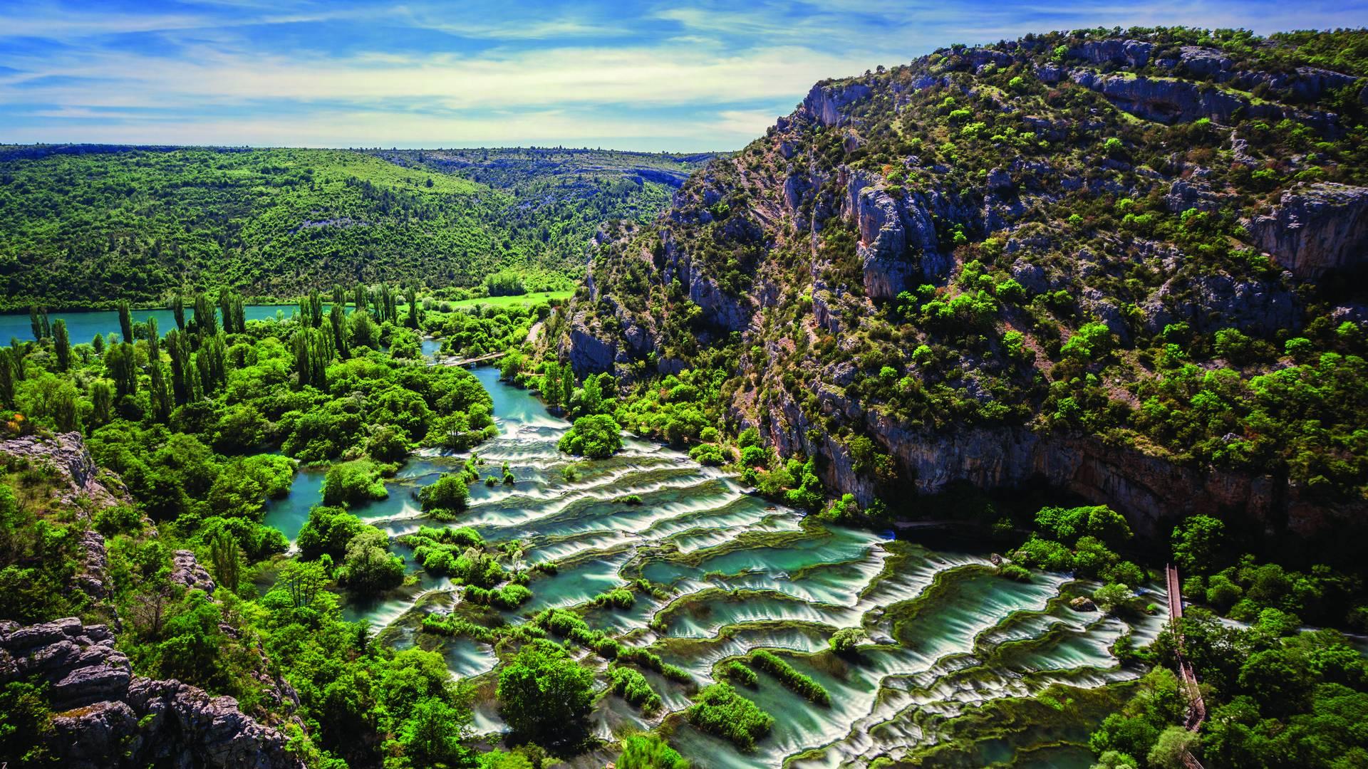 Roski slap Krka waterfalls